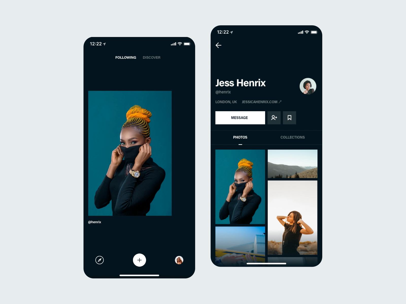 Browse Photos & Profile Screen cover image