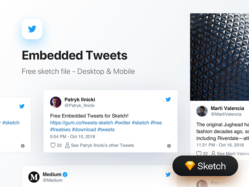 Embedded Tweets cover image