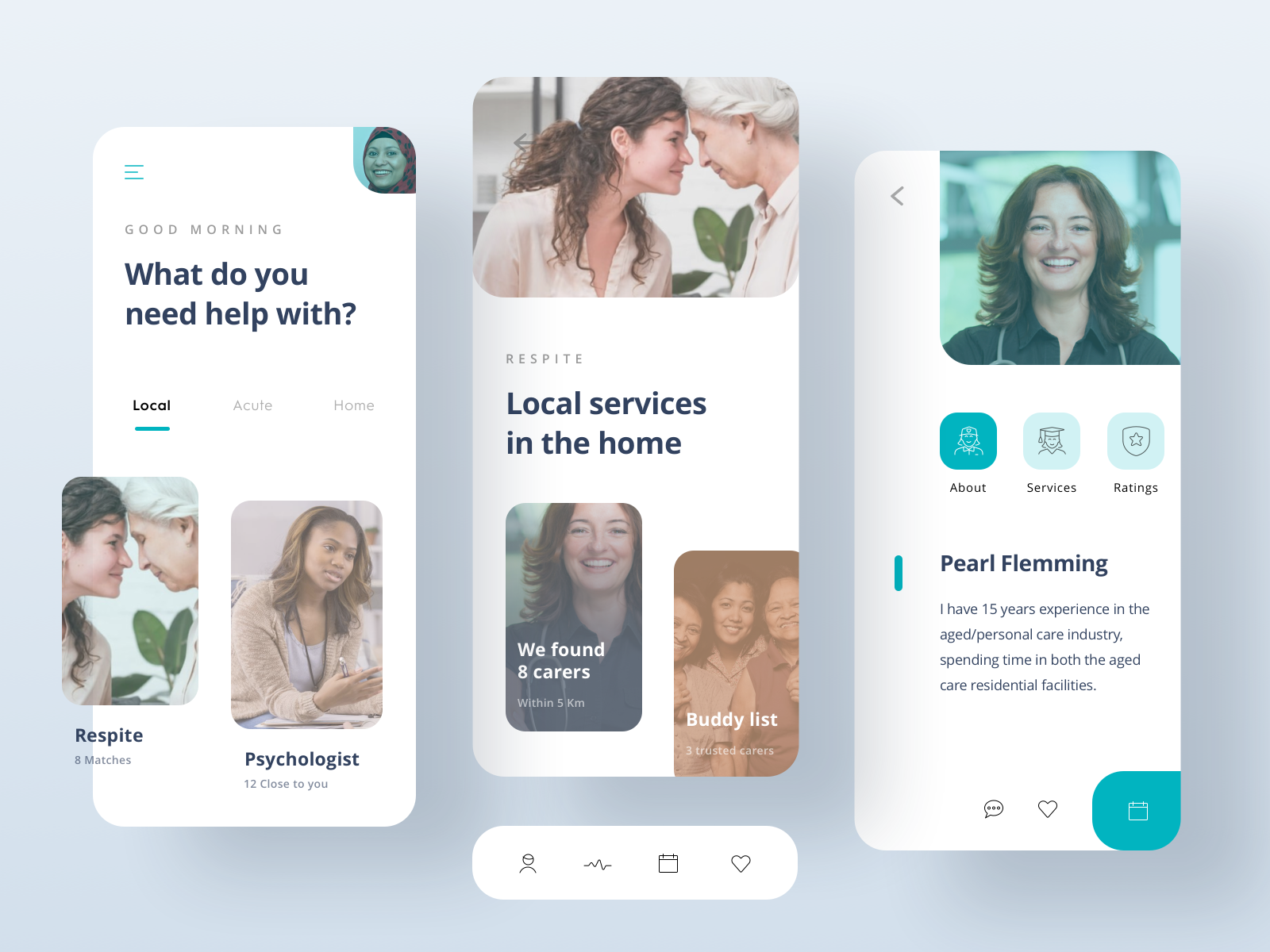 Home Care Support App cover image