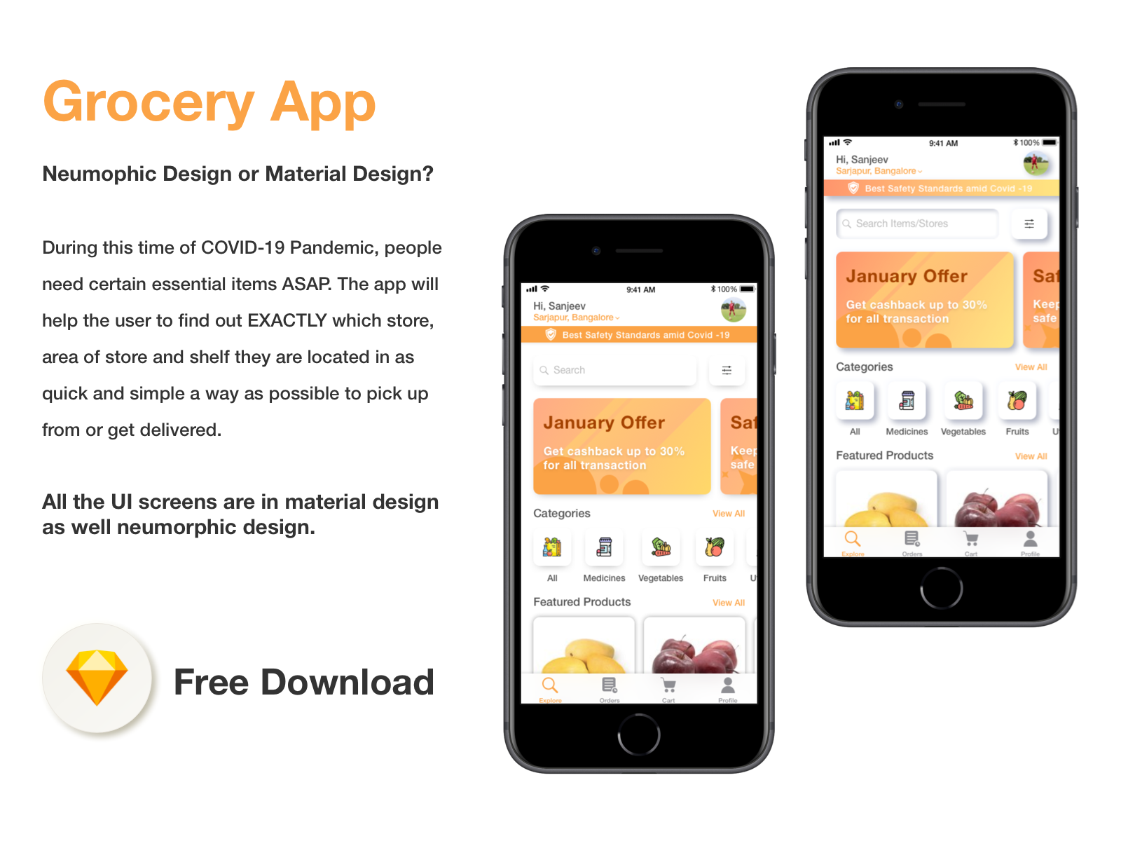 Grocery App cover image