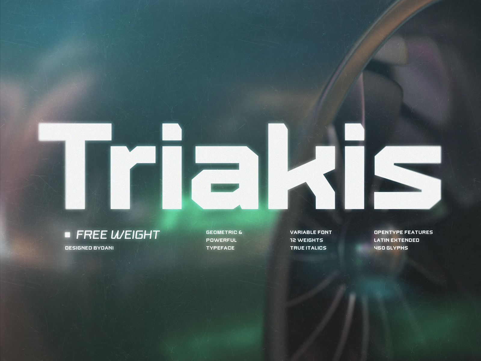 Triakis Font Family – Free Weight cover image