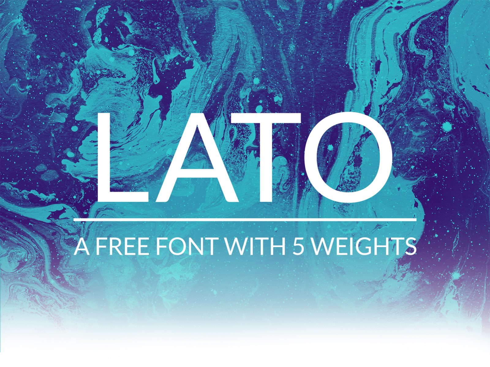 Lato | Free Font With 5 Weights cover image