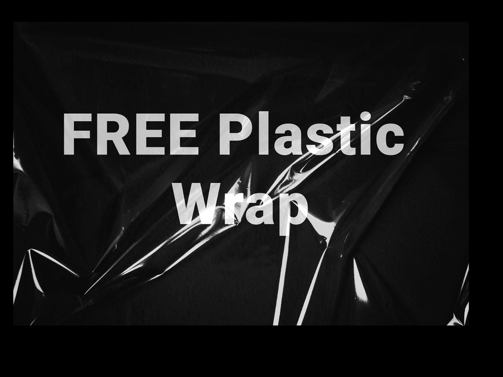 Free Plastic wrap Mockup (psd) cover image
