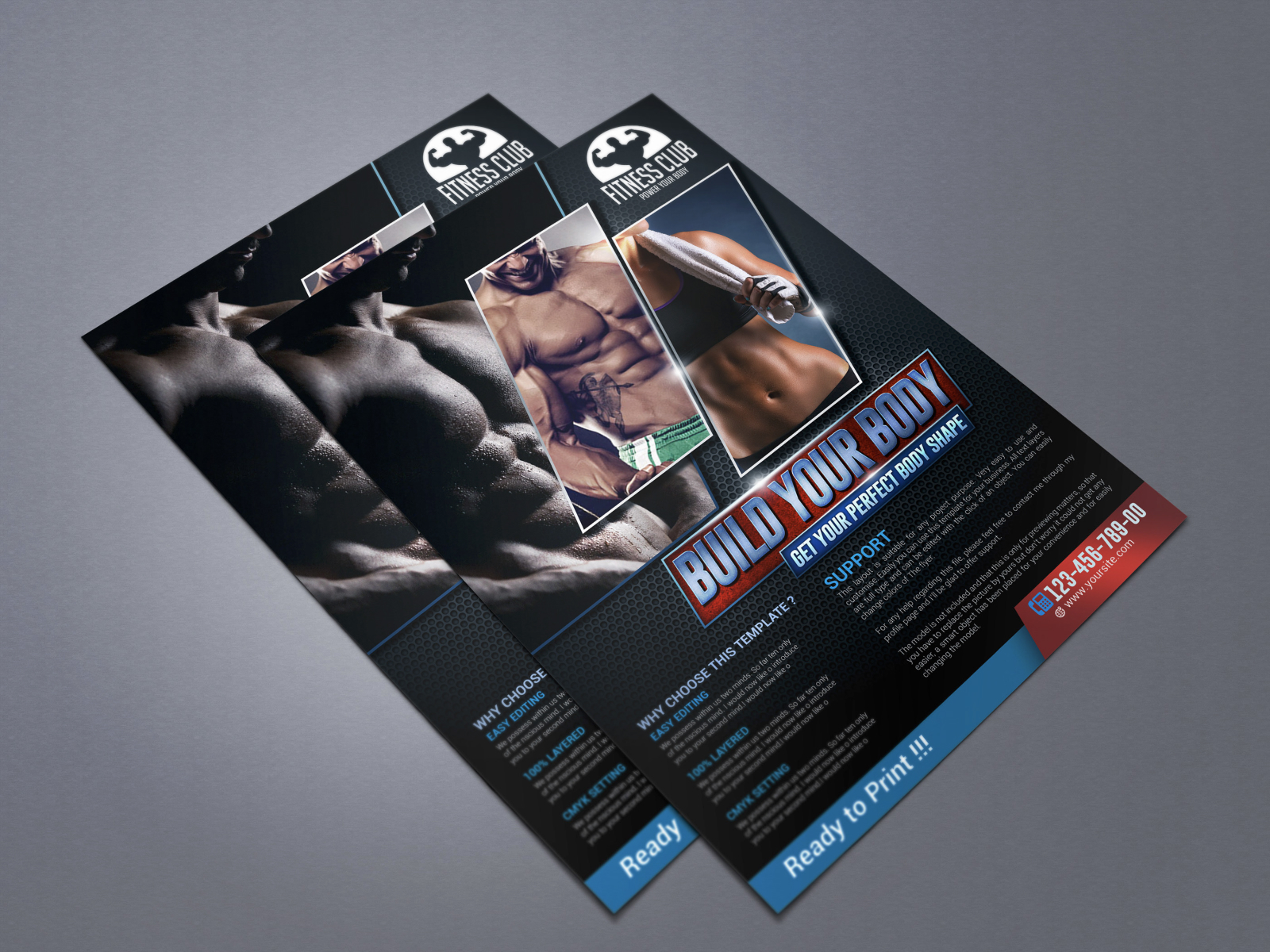 Sport / GYM Template cover image