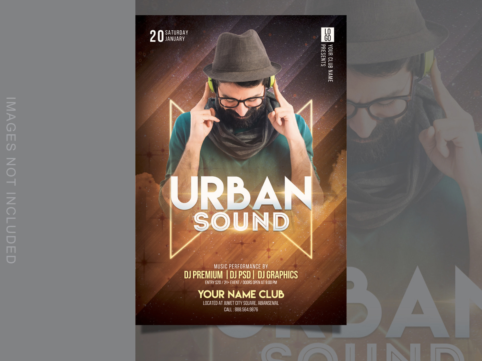 Urban Sound Party Flyer cover image