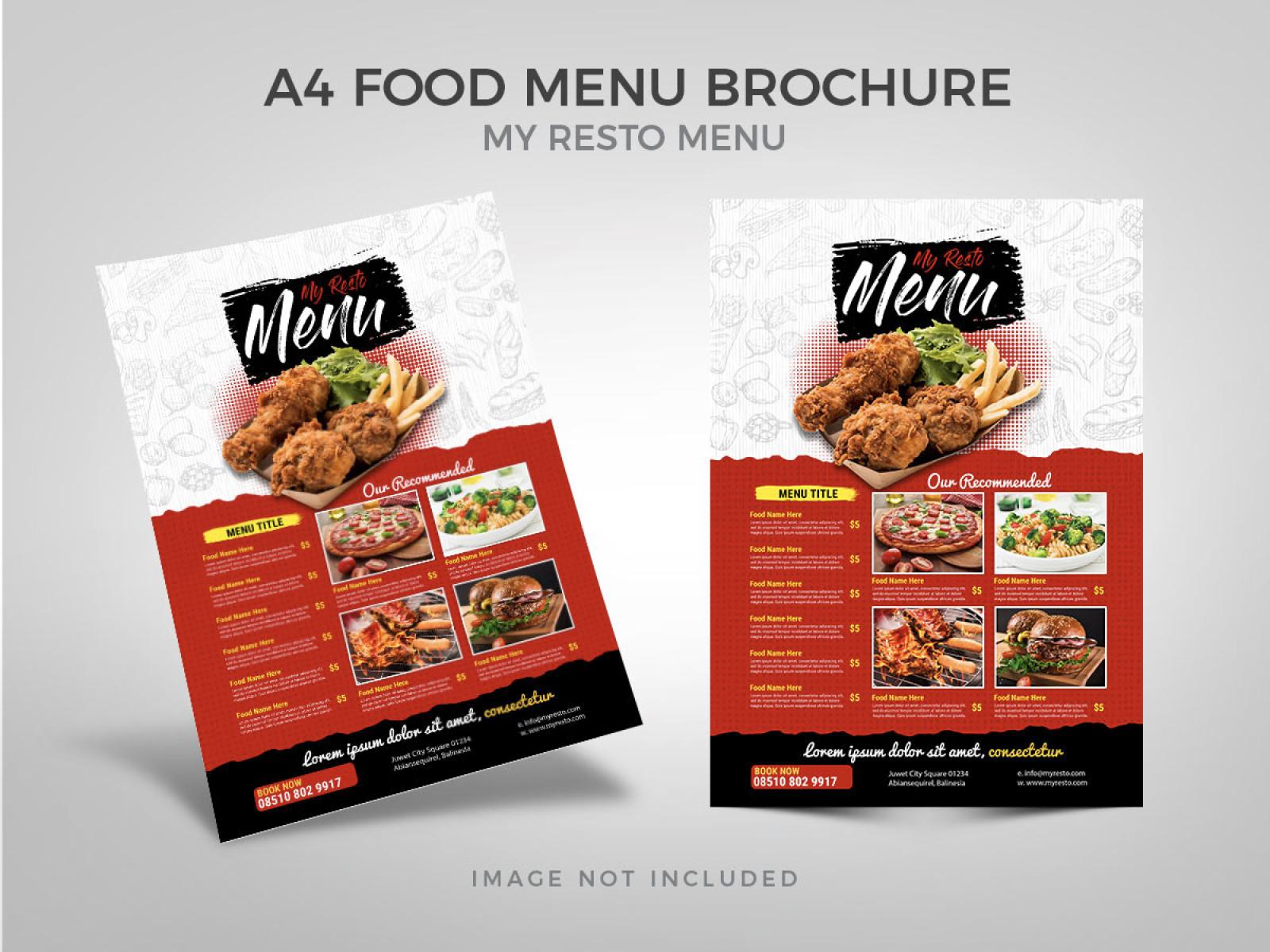 Food Menu Template cover image