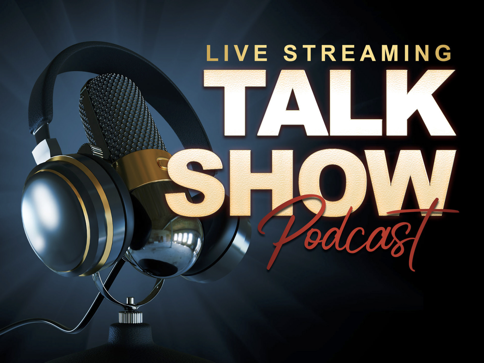 TALK SHOW PODCAST TEMPLATE cover image