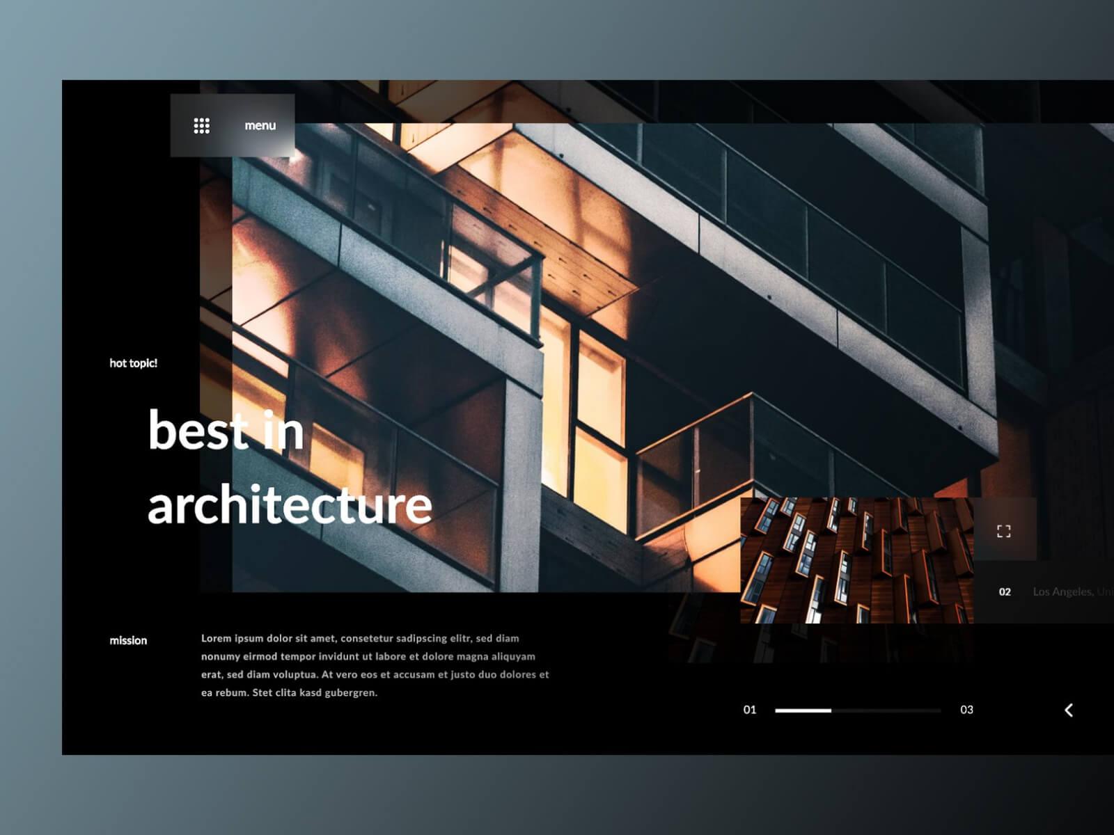 Archict Web Concept cover image