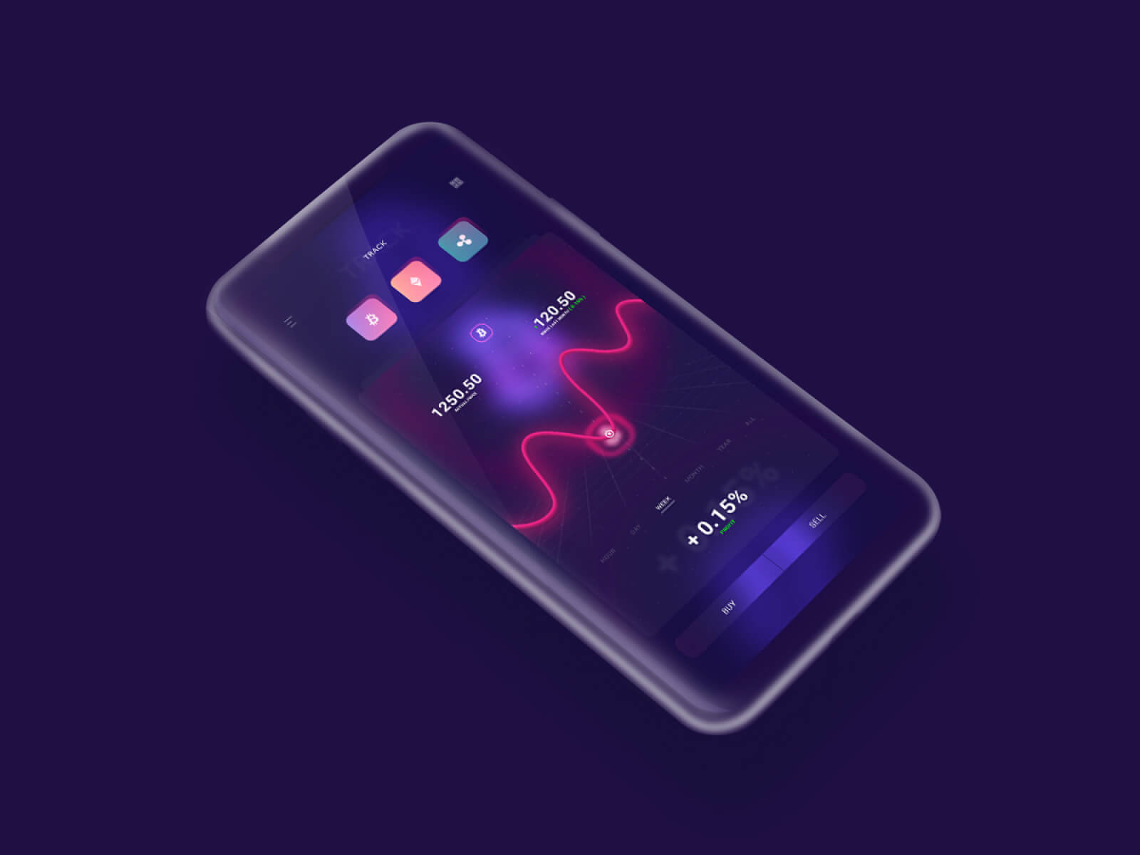 Cryptocurrency App for UpLabs:Labs cover image