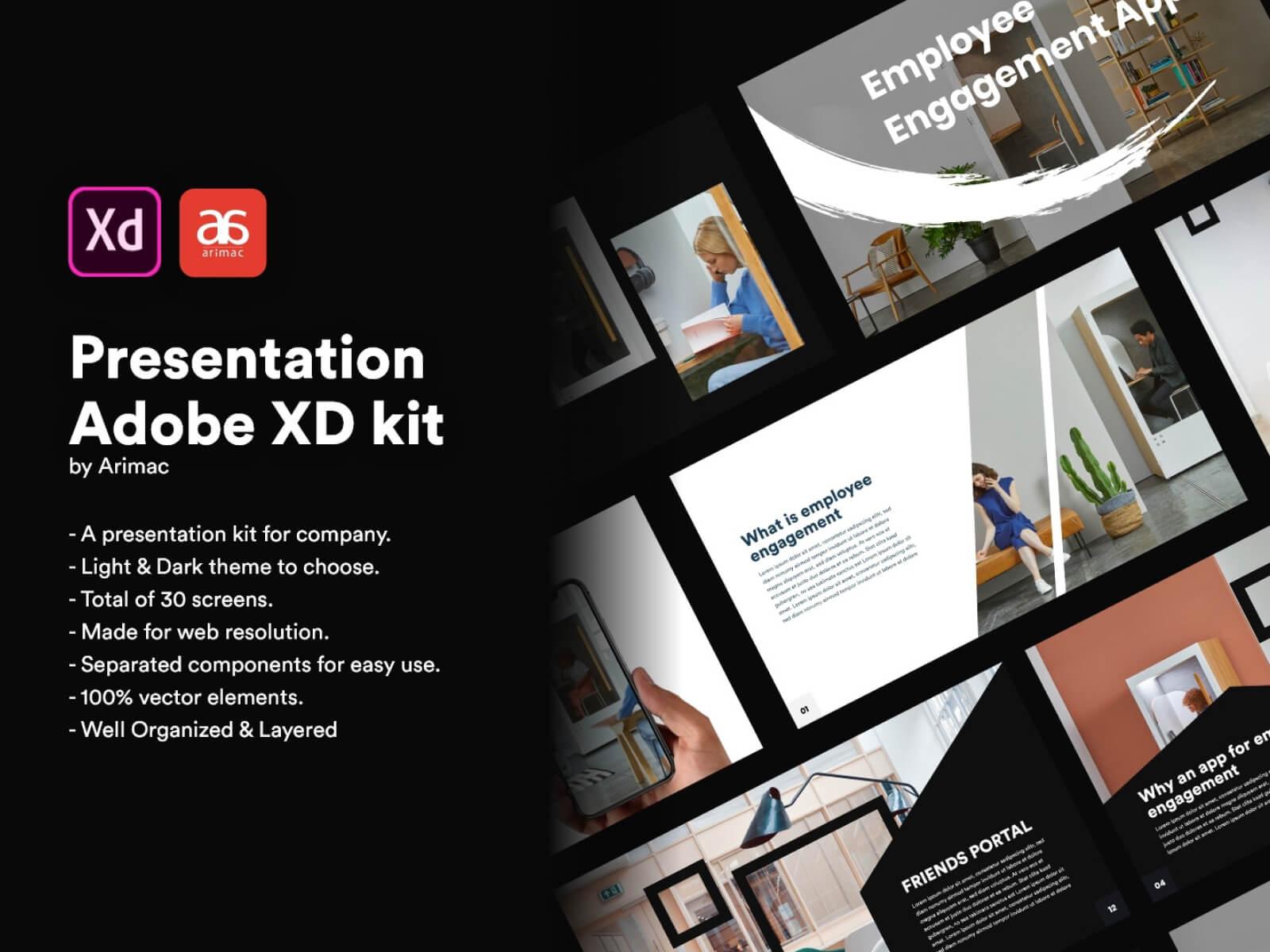 Employee Engagement Presentation Kit cover image