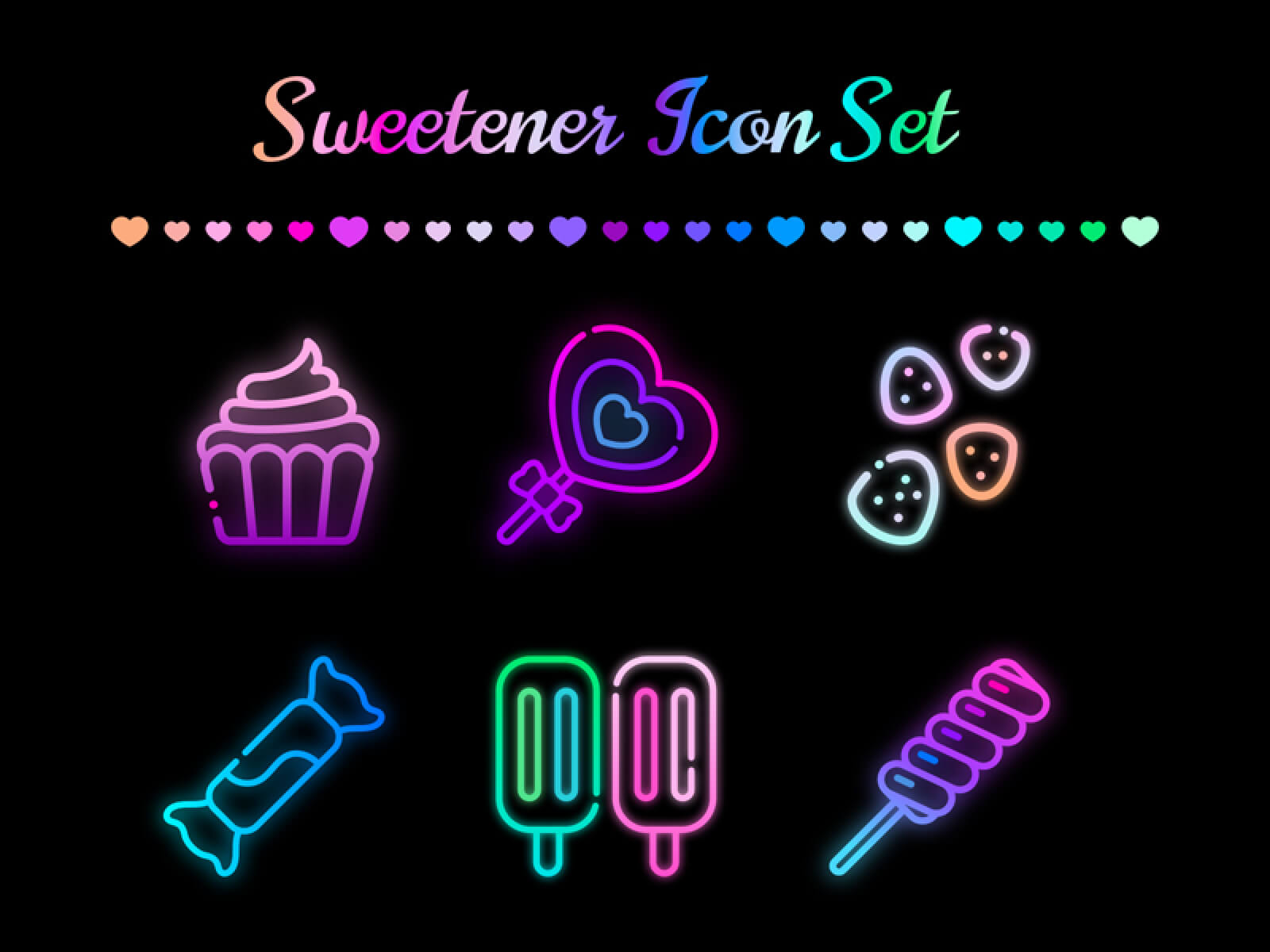 Candy Icons Set – Sweetener cover image