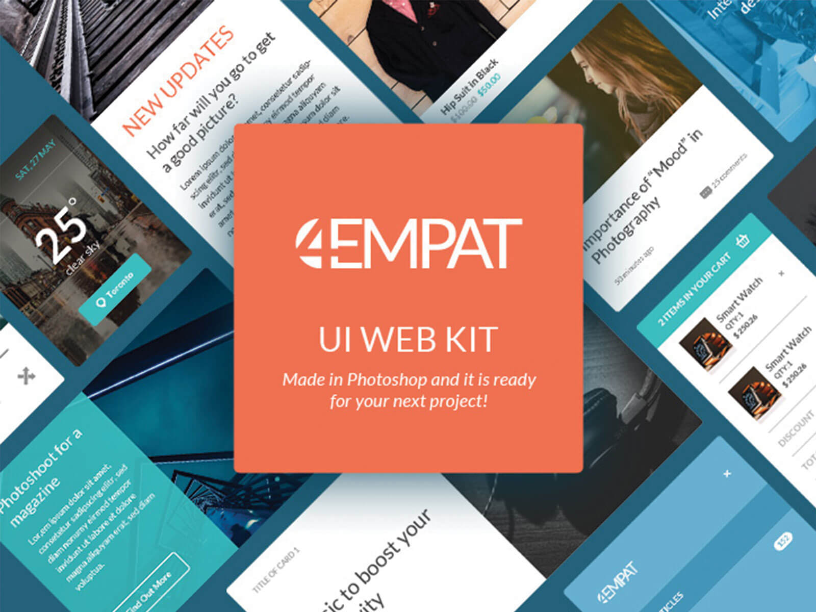 UI Kit for Website cover image