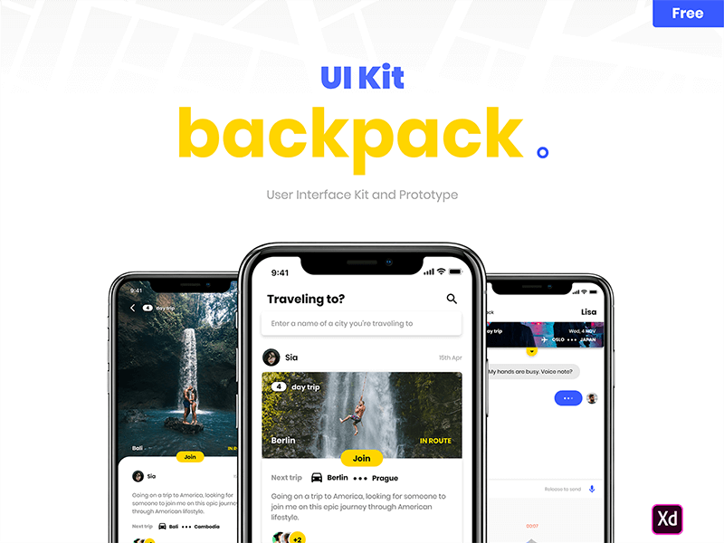 Backpack UI Kit cover image