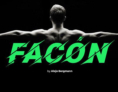 Facón Free Font cover image