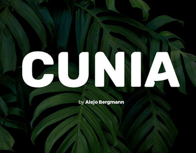 Cunia Free Font cover image
