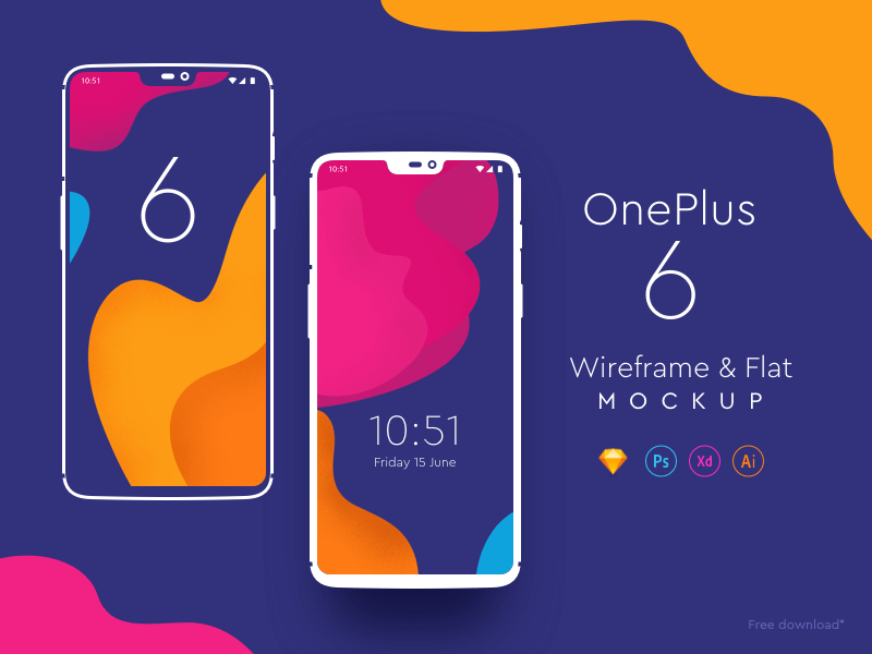 One Plus 6 Mockup cover image