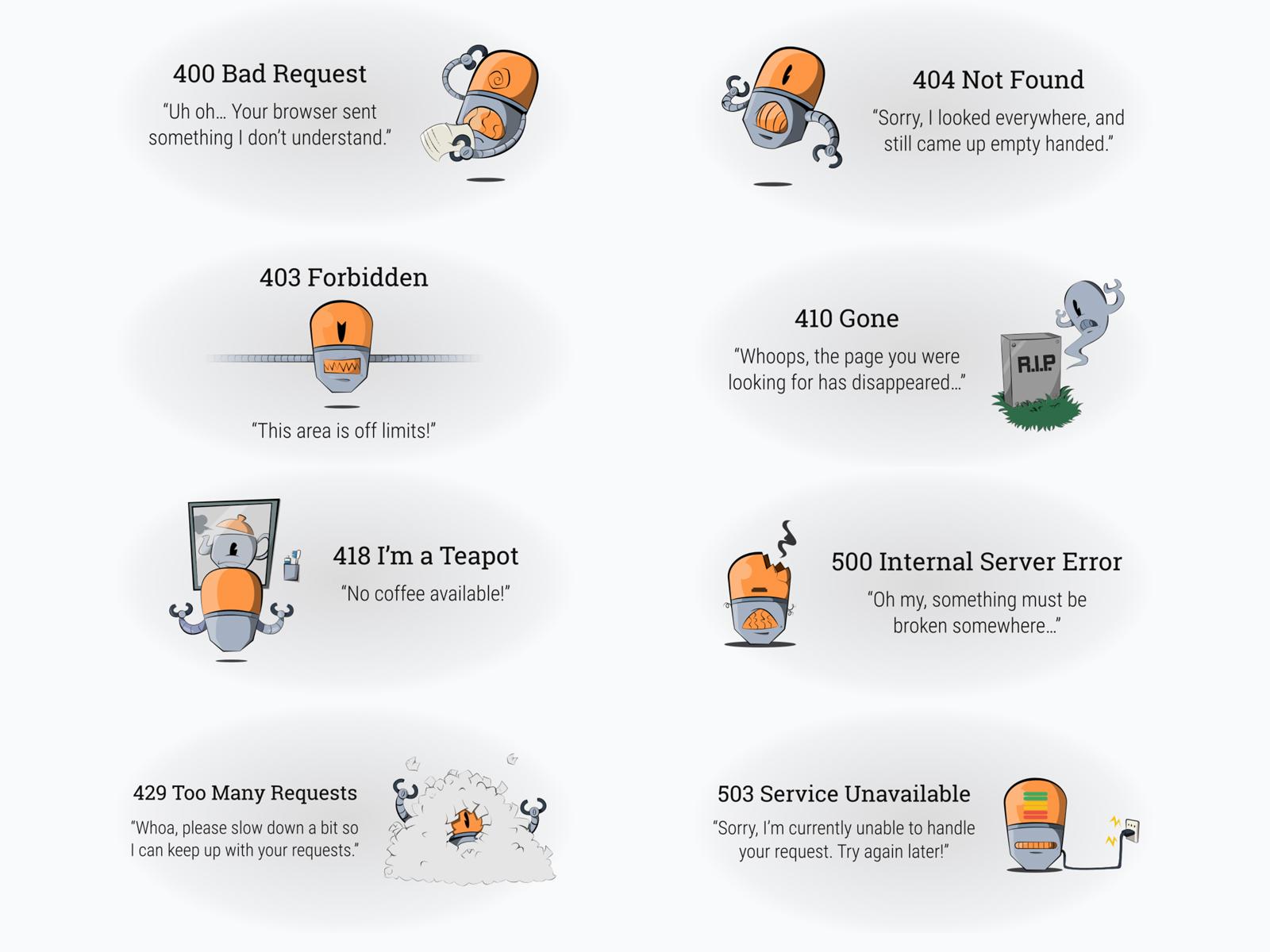 Server Error Illustrations cover image
