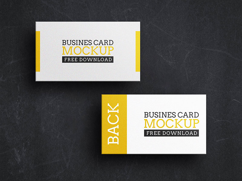 Business card PSD Mockup vol. 3 cover image