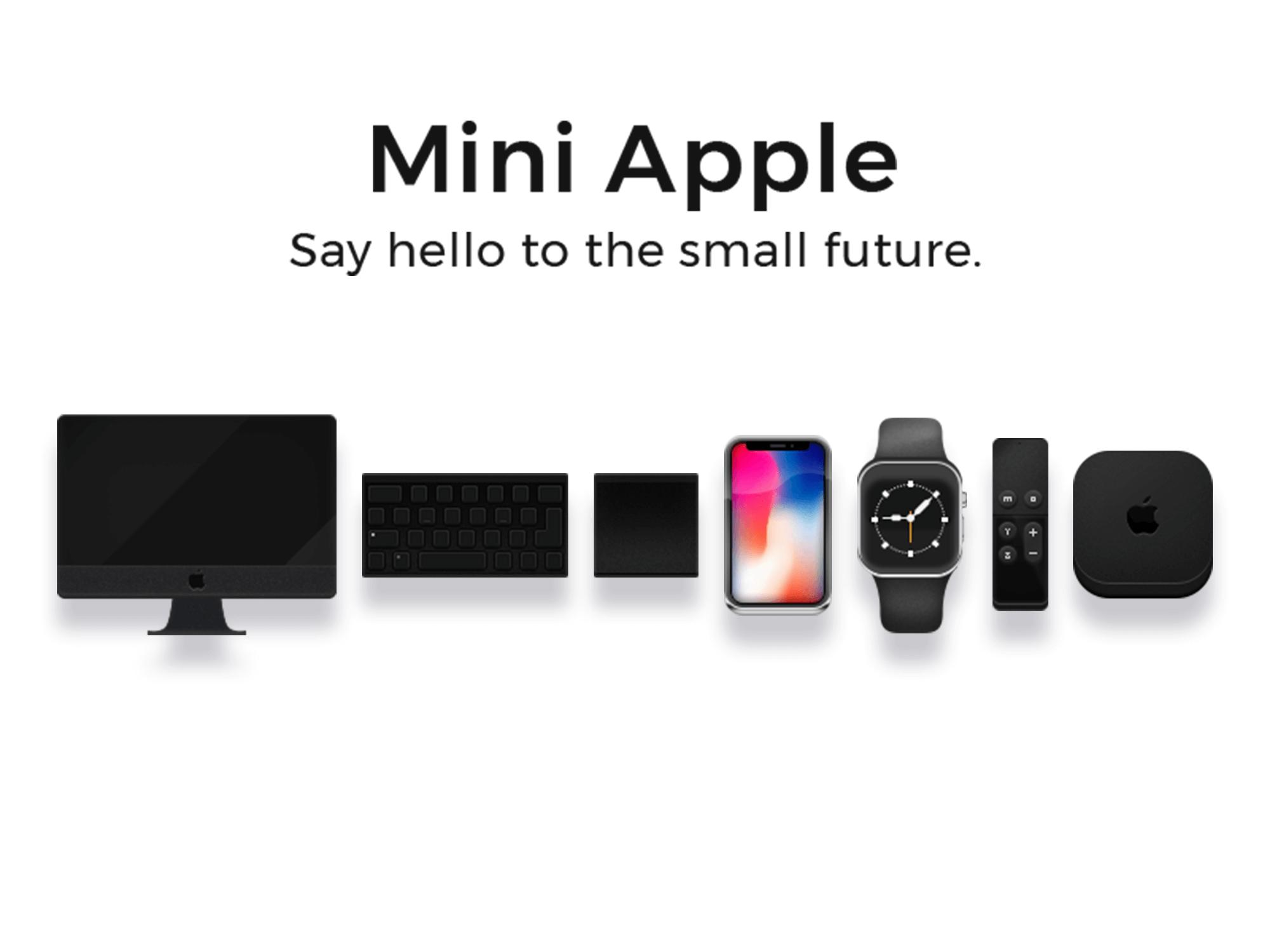 Mini Apple icons presentation image