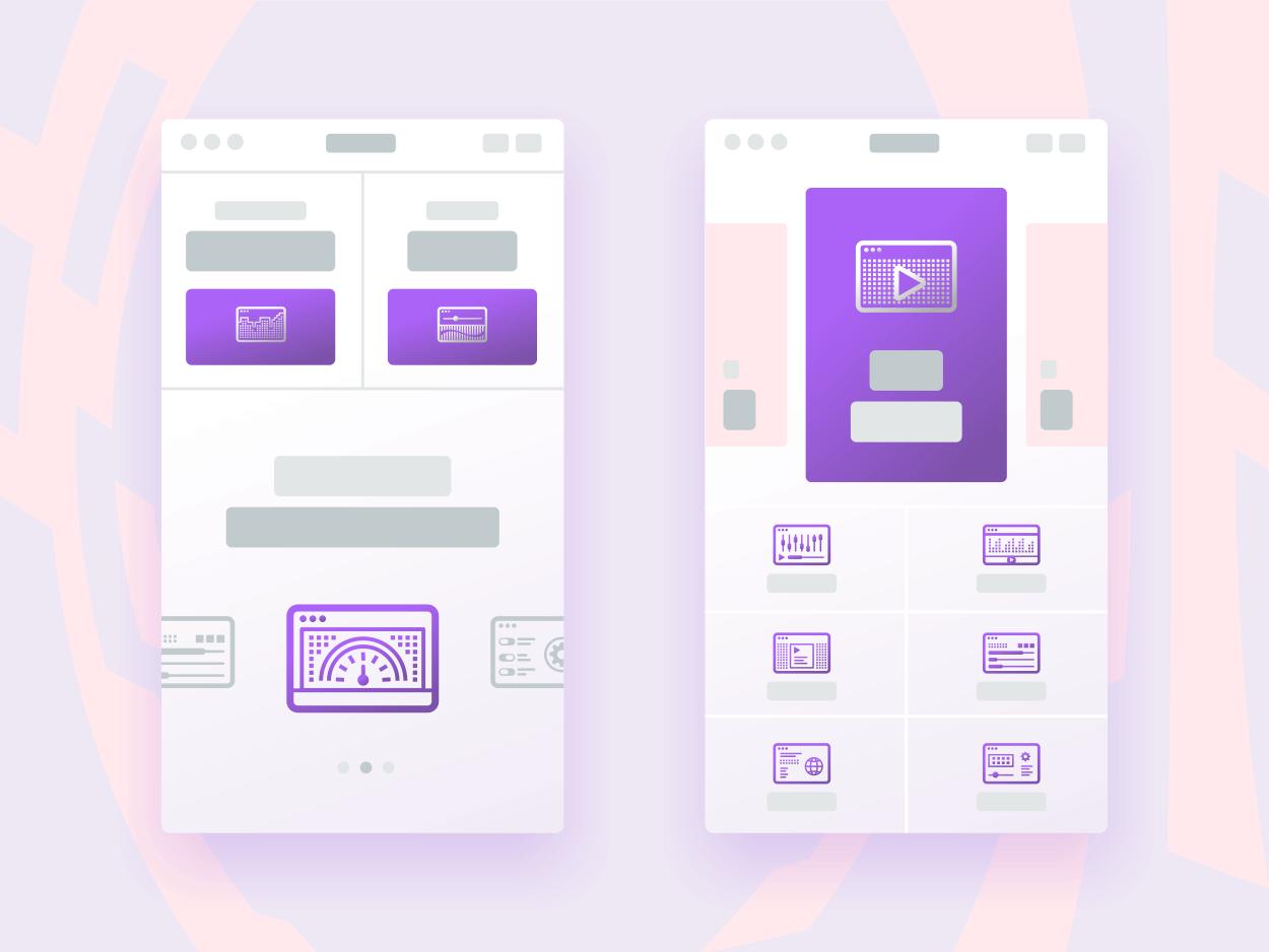 40 Digital Icons presentation image