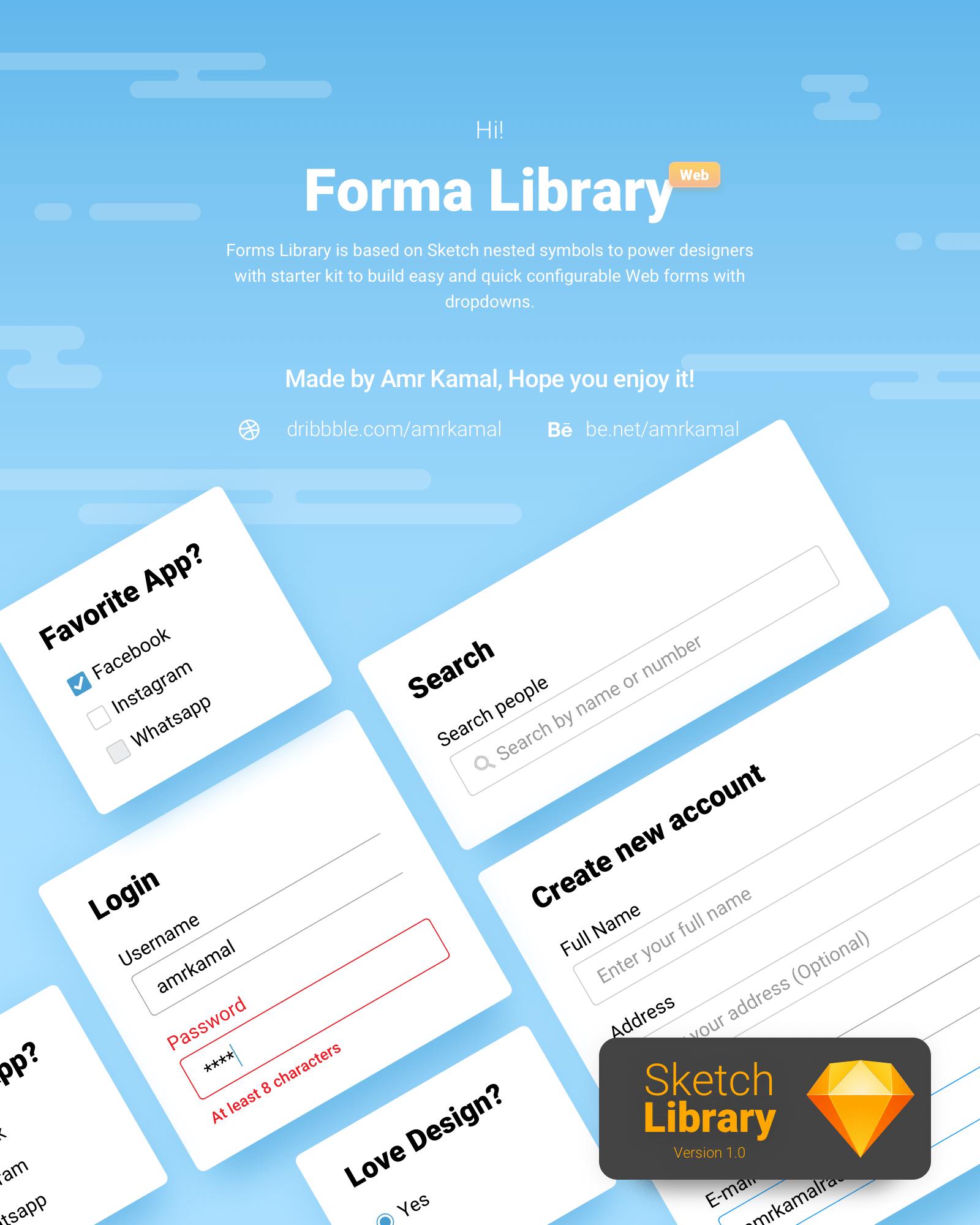 Forma Library presentation image