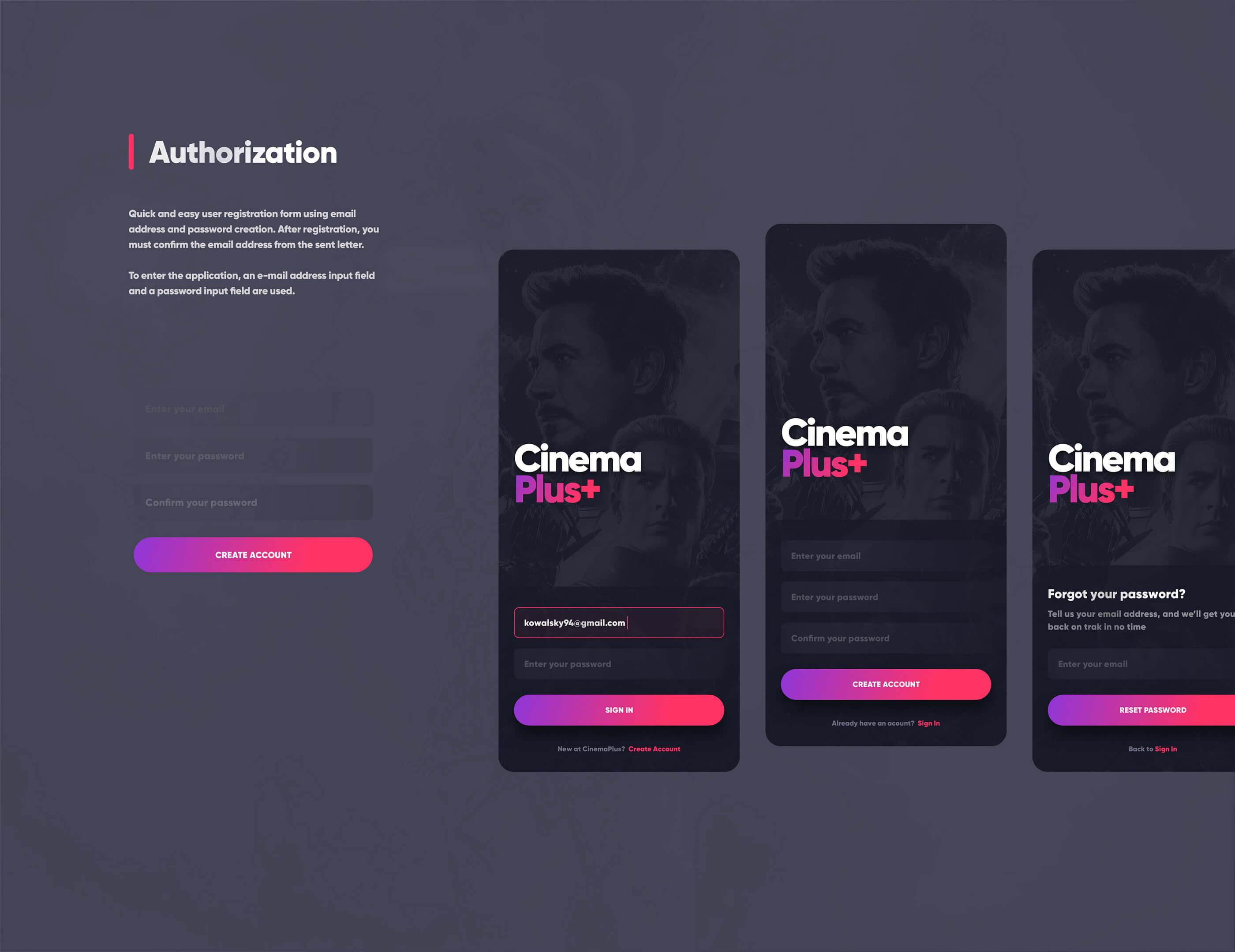 Cinema Plus presentation image