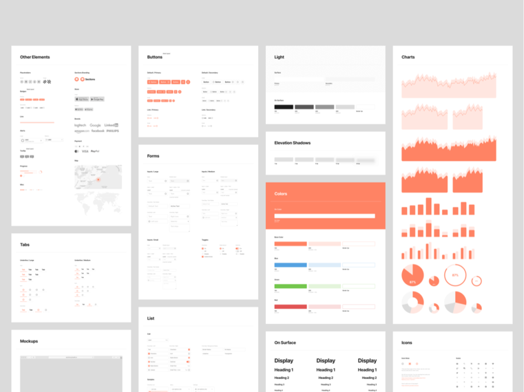 Sections Base presentation image